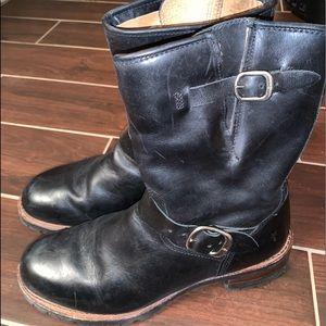 Men's Leather Frye Boots